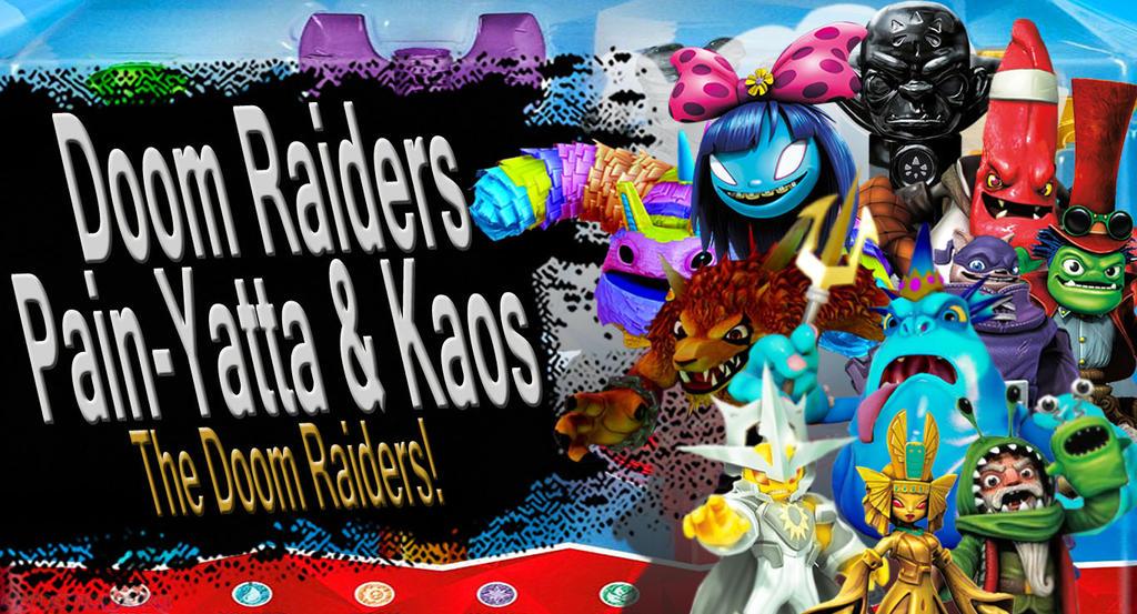 Doom Raiders, Pain-Yatta, Kaos SSB4 Request by Elemental-Aura