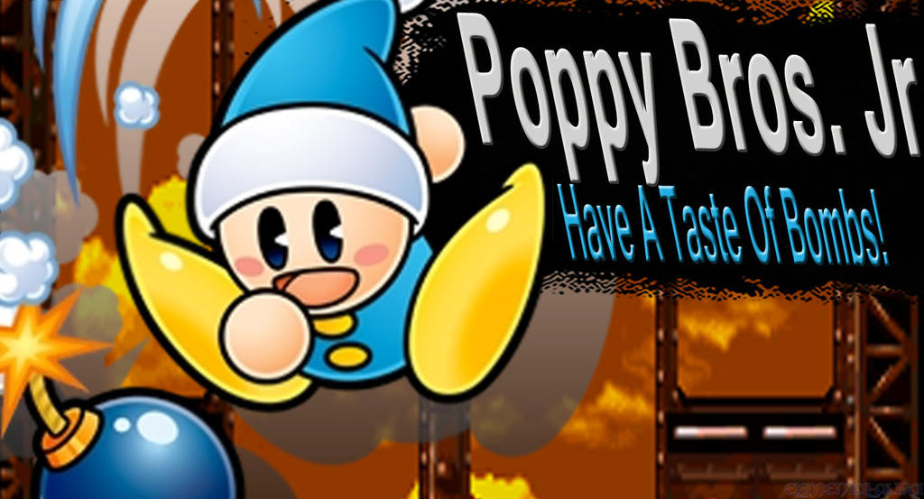 Poppy Bros. Jr SSB4 Request by Elemental-Aura