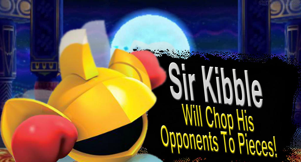Sir Kibble SSB4 Request by Elemental-Aura