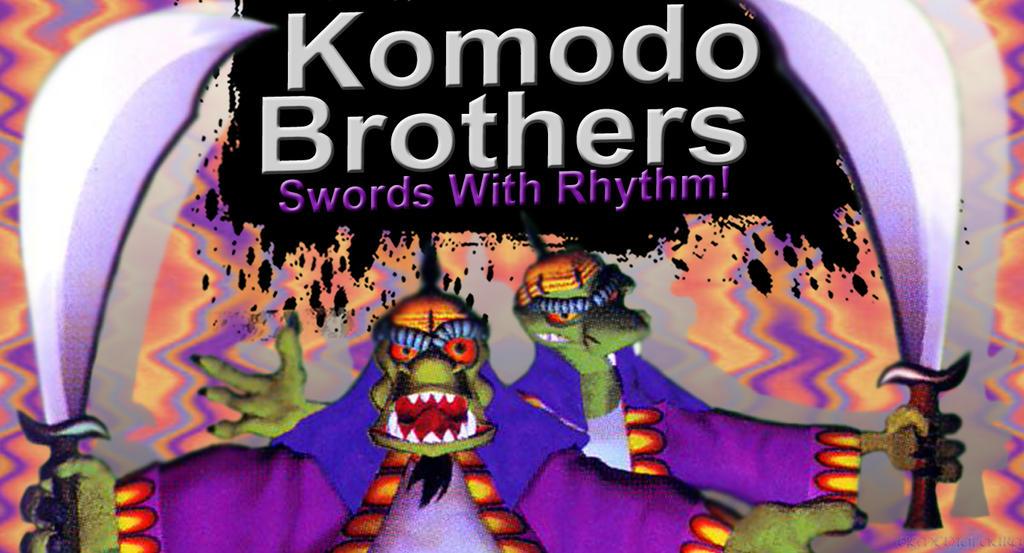 Komodo Brothers SSB4 Request by Elemental-Aura