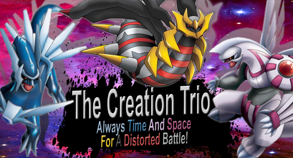 The Creation Trio SSB4 Request by Elemental-Aura