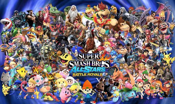 Ultimate Super Smash Bros Battle Royale!