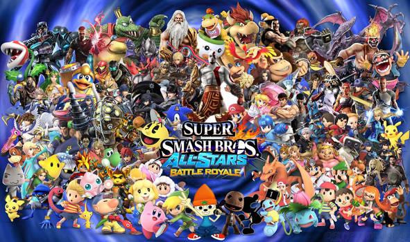 Ultimate Super Smash Bros Battle Royale! by Elemental-Aura