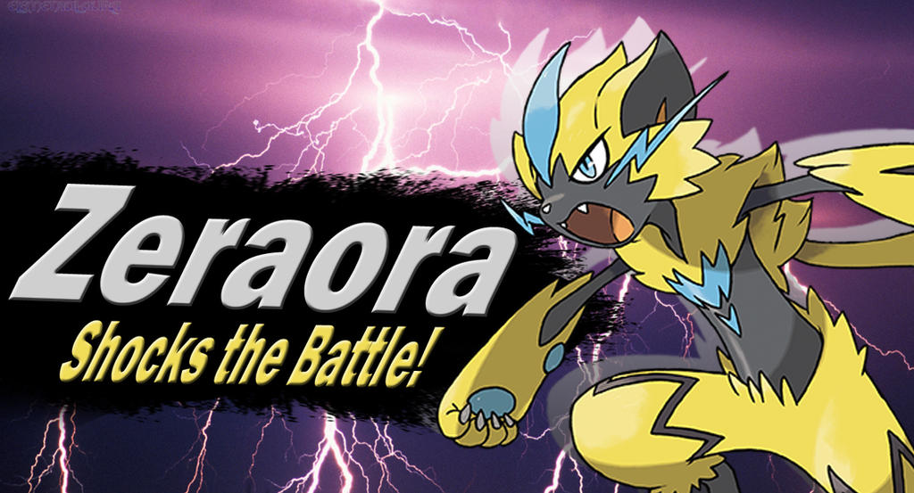 Zeraora SSBU Request by Elemental-Aura