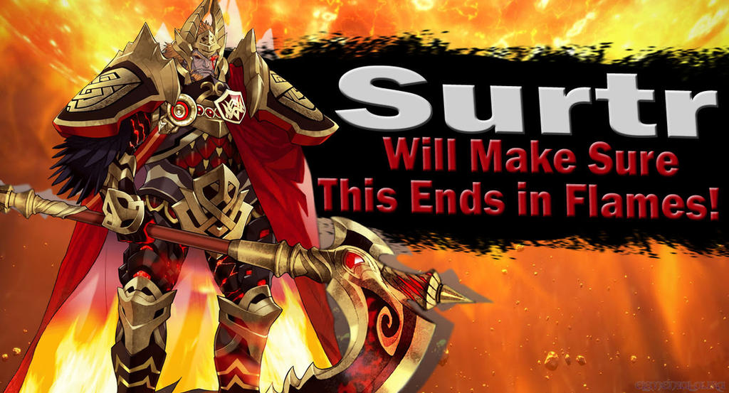 Surtr SSBU Request by Elemental-Aura