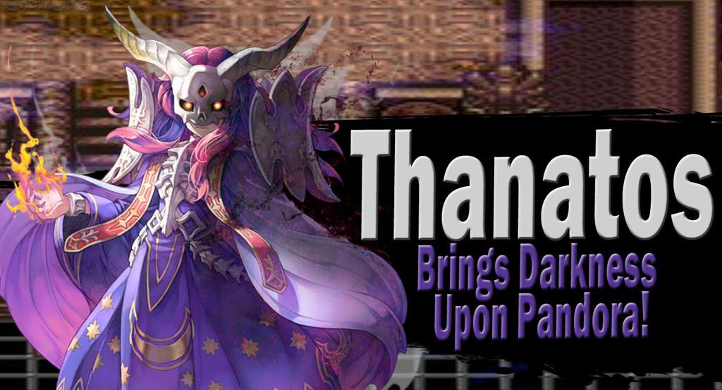 Thanatos SSBU Request by Elemental-Aura