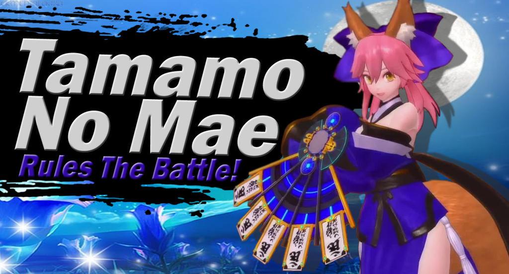 Tamamo No Mae SSBU Request by Elemental-Aura