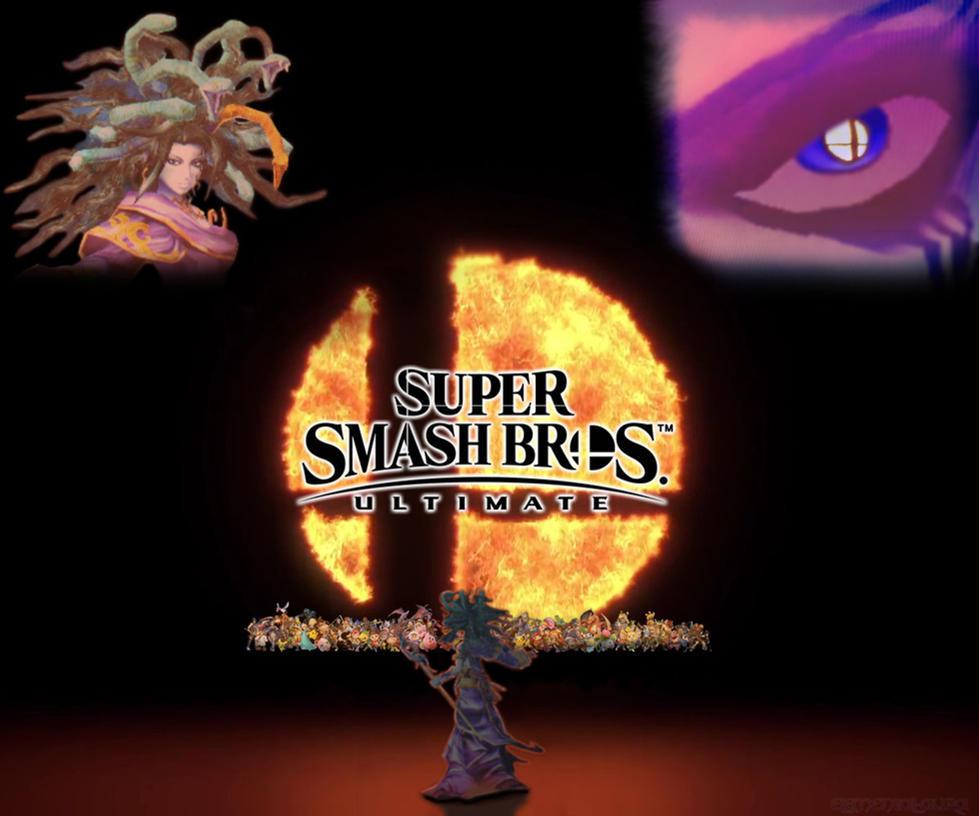 Medusa for Smash Ultimate by Elemental-Aura