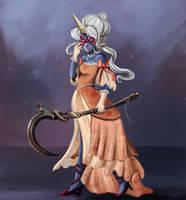LoL: Masquerade Soraka by Kasu-kan