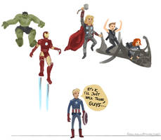 Avengers Assemble! by Kasu-kan