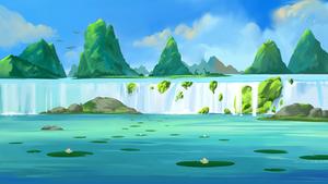 Dinosaur Waterfalls