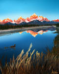 January Grand Teton National Park study