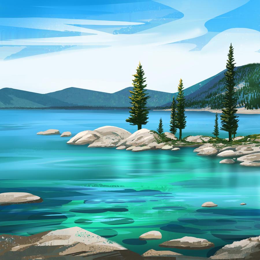 Blue Lagoon Lake