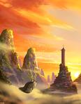 Air Temple Surnise