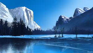 Winter Yosemite Study