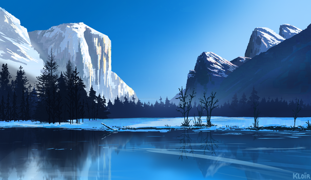 Winter Yosemite Study