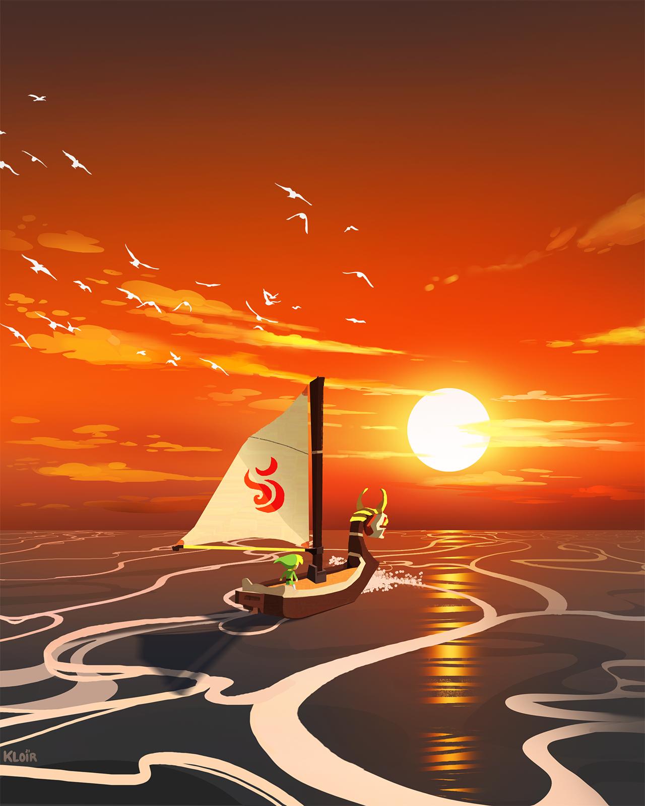 Wind waker Sunset