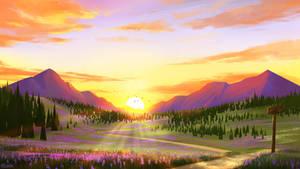Lavender Mt