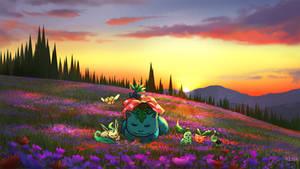 Grass and bug Pokemon
