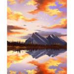 Sunset Banff Study