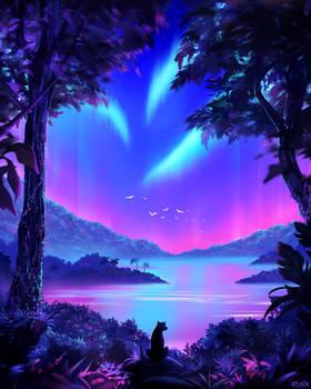 Vaporwave Jungle