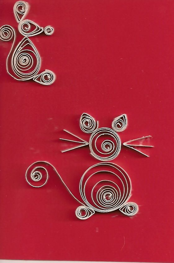 Paper quilling mice by tiffers4christ88 on deviantart - Paper quilling art wallpapers ...