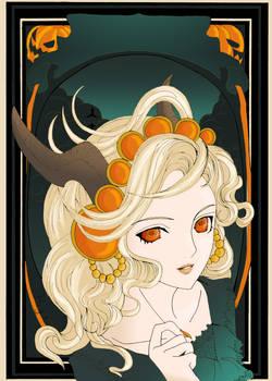 Autumn  Halloween - coloured