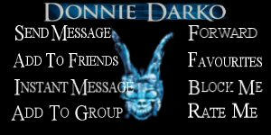 Contact Table- Donnie Darko by Psycho-pete