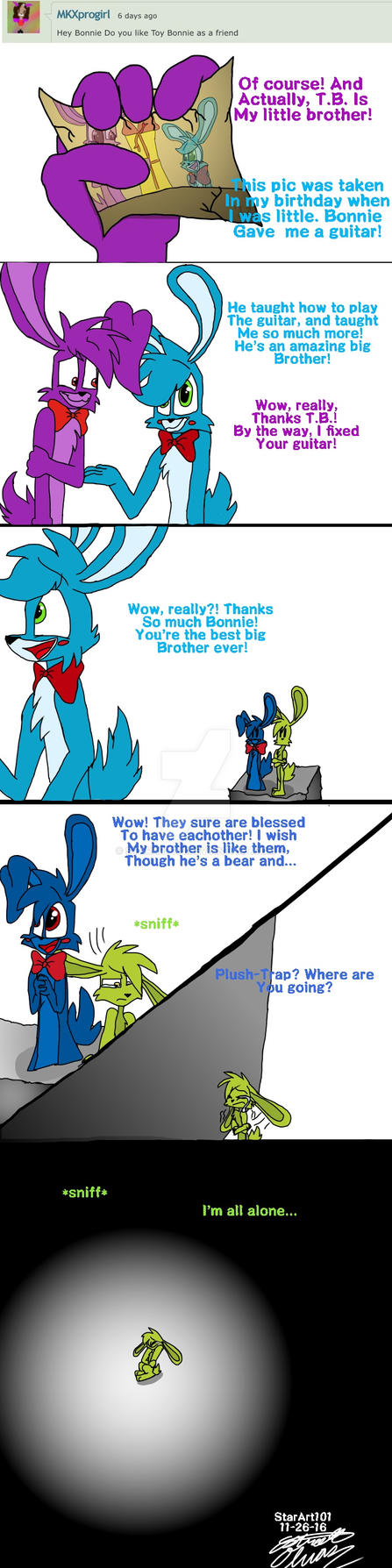 Ask Fnaf Bunnies #4 by StarArt101