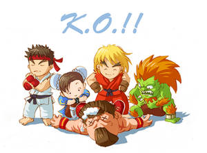 Cute Street Fighters