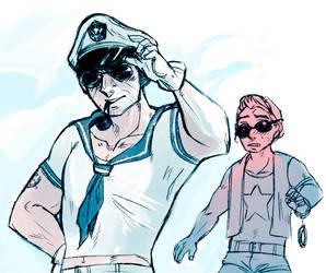Resident Evil - Ey Sailor