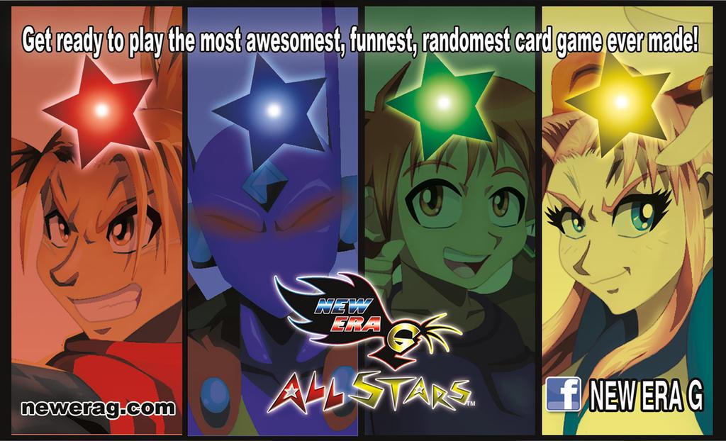 New Era G All Stars Flyer by StamayoStudio
