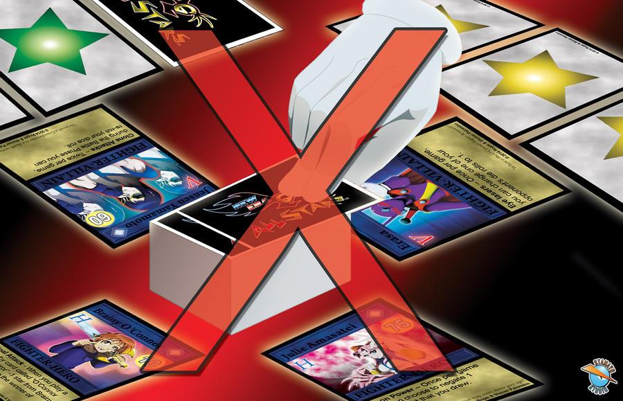 New Era G All Stars Stop card No Draw by StamayoStudio