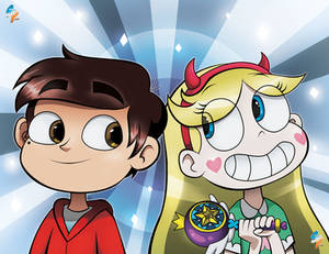 Star and Marco commission for Adriana