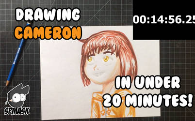 Drawing Cameron in Under 10 minutes by StamayoStudio
