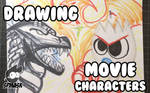 Drawing Movie Characters I Missed This Year