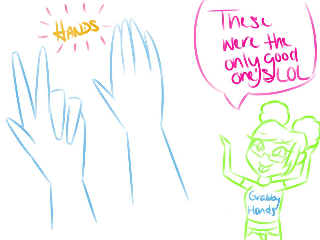 Hands Are Stupid by KashaFenix