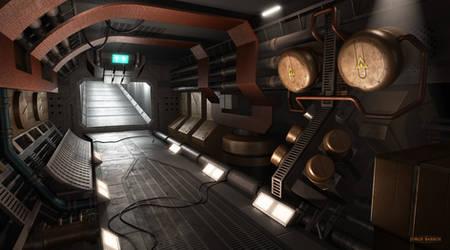 Engineering Corridor by TheSphinx