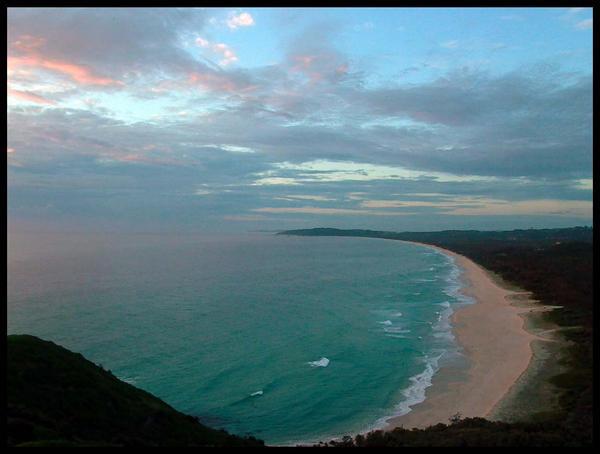 Cape Byron by hecxadecimal