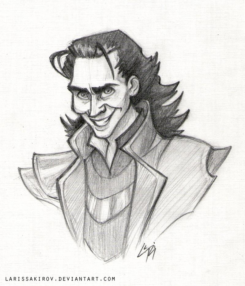 Loki by LarissaRivero