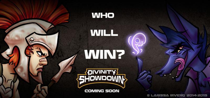 Divinity Showdown - Sneak peek by LarissaRivero