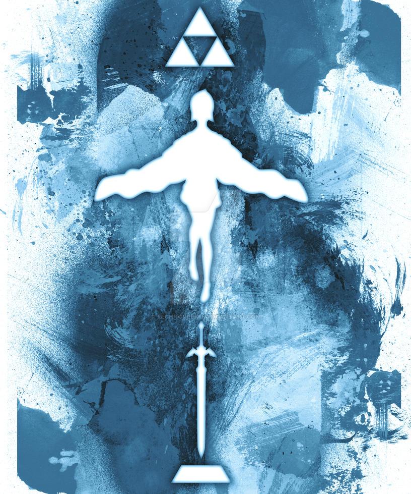 Zelda Skyward Sword Fan Art- Version 1 by technogeek11