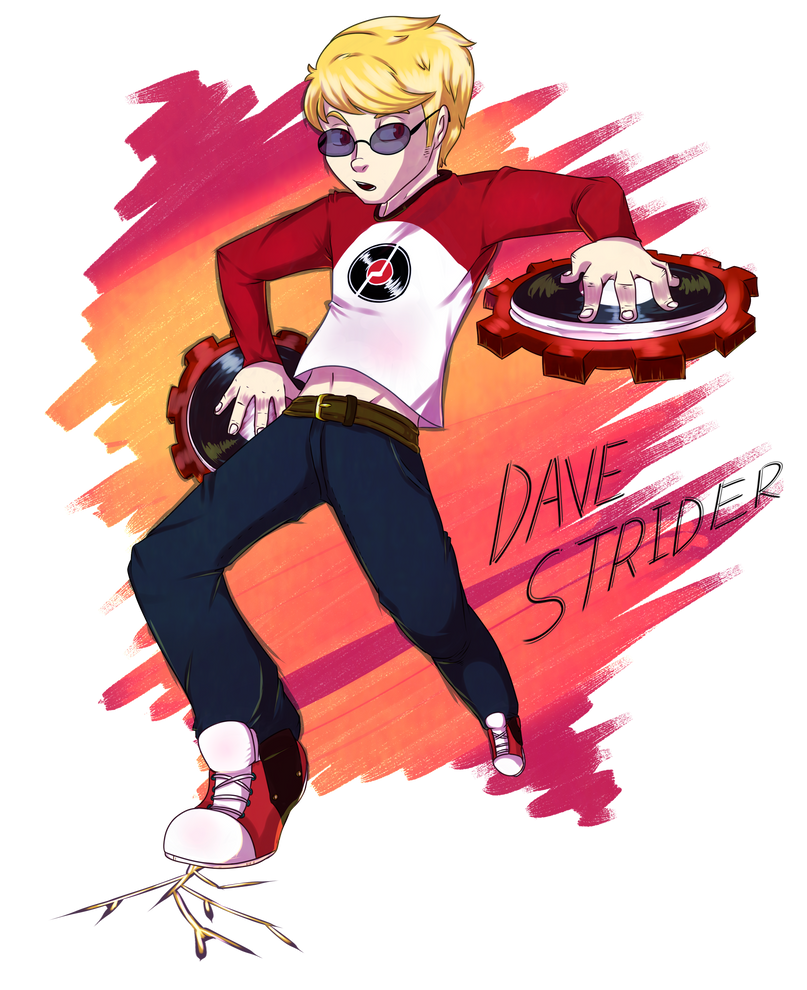 Dave the Time Strider by deltari2