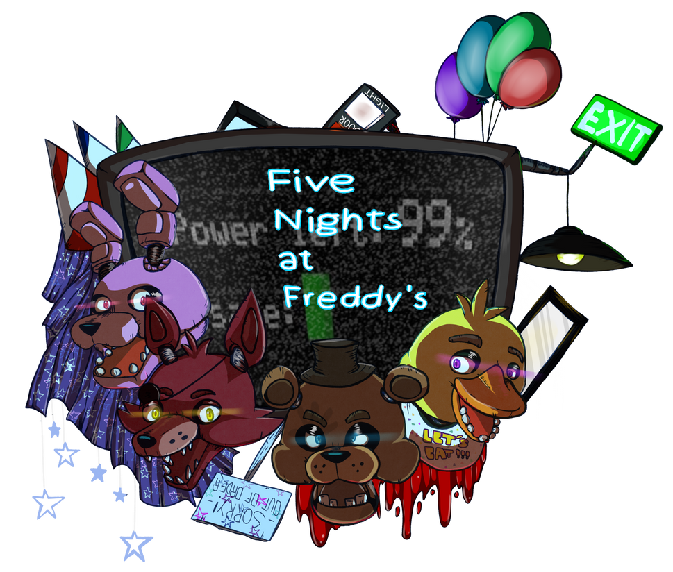 Five Nights at Freddy's by deltari2