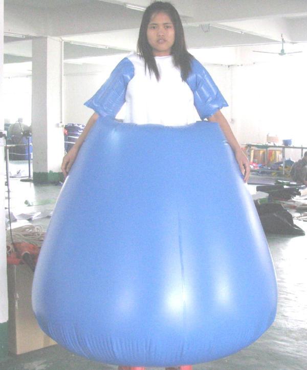 Pvc Inflatable Sample Dress By Puncturegown On Deviantart