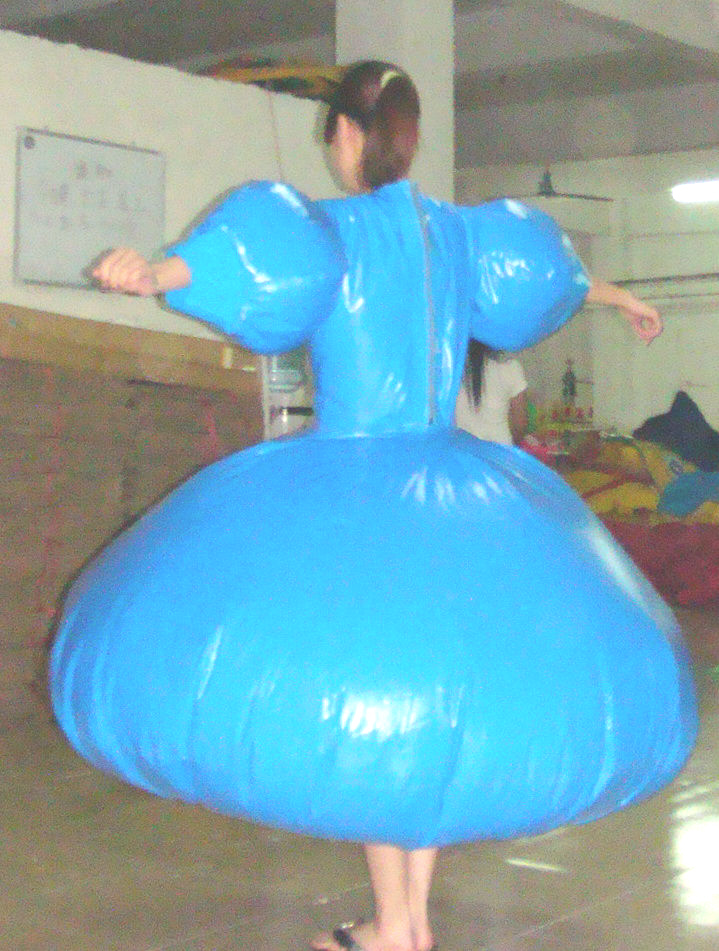 Sealed inflatable duplex gwon by puncturegown on deviantart - Couche adulte exterieur plastique ...