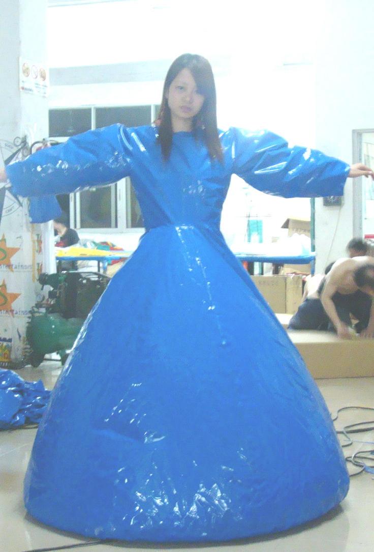 Inflatable Madam Dress Duplex By Puncturegown On Deviantart