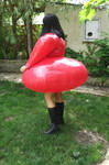 PVC inflatable Lucy dress