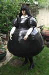 inflatable TPU maids dress