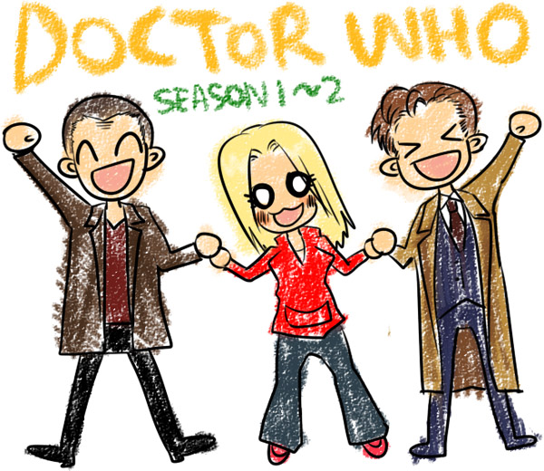 Doctor Who by Bloodmilkk